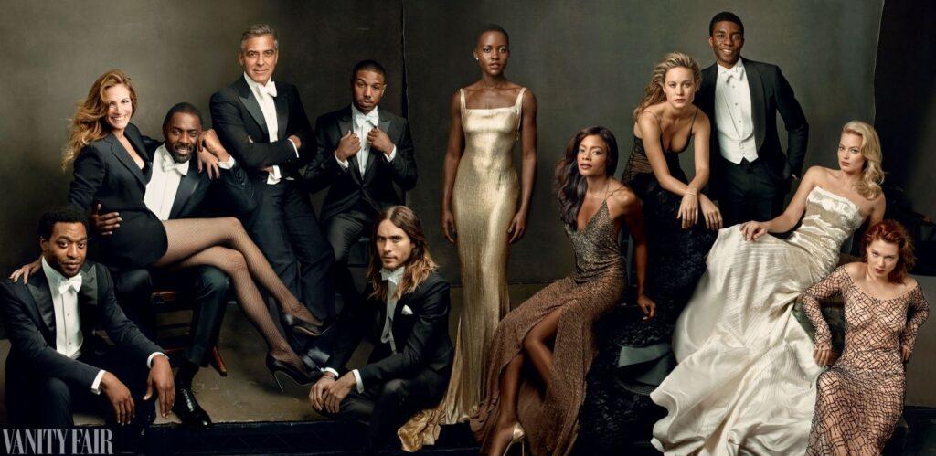 fotógrafa Family Portrait Annie Leibovitz for Vanity Fair