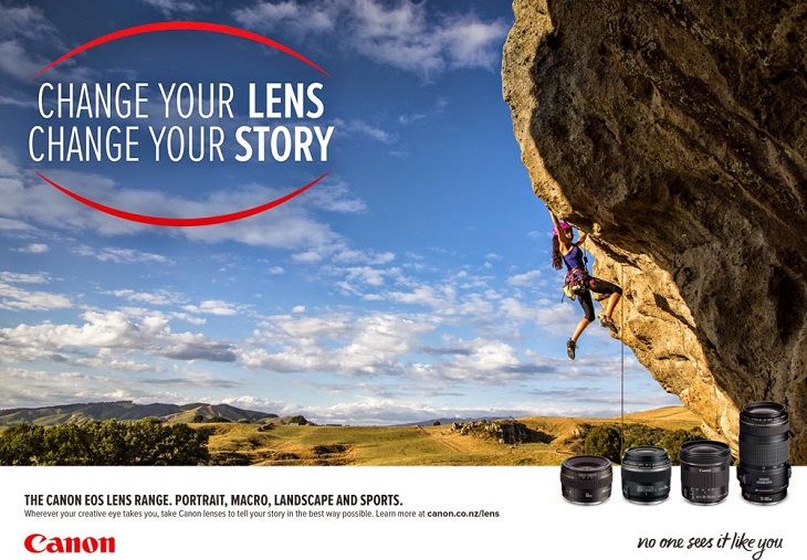 Change your lens, change your story-canon fotofestin