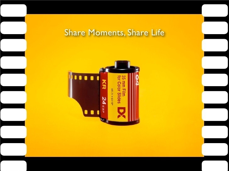 Kodak Share moments. Share life fotofestín