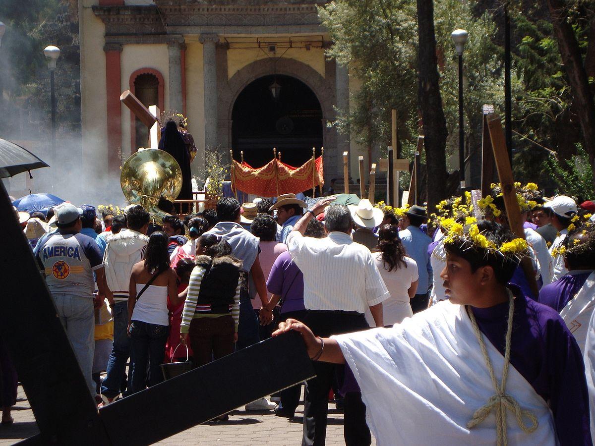 Pasión de cristo, Iztapalapa, CDMX Ciudad de México, fotografías
