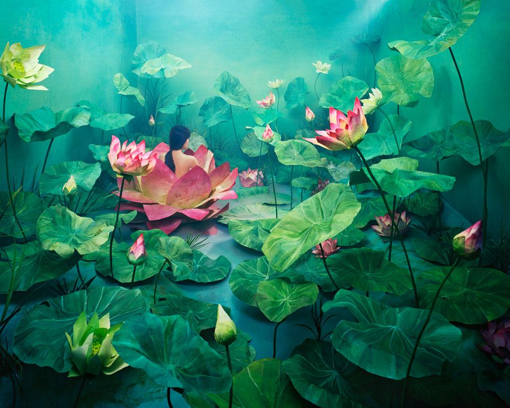 Fotofestin. Jee Young Lee. Resurrection fotografía construída escenografia artista coreana fotografa