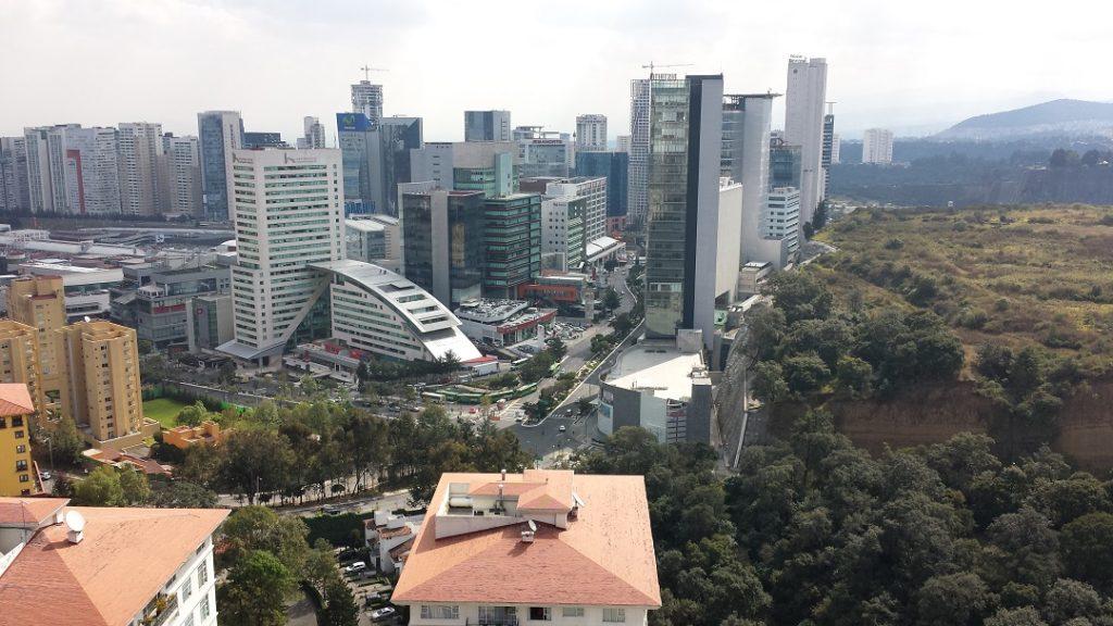 Vista de Santa Fe, Ciudad de México, fotofestín