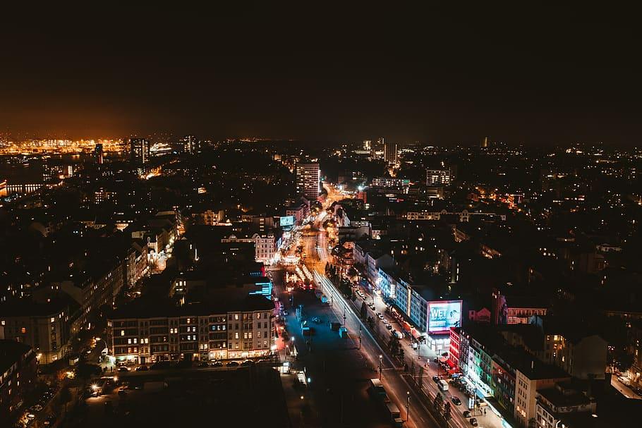 CDMX de Noche, fotofestín, Ciudad de noche, paisaje urbano