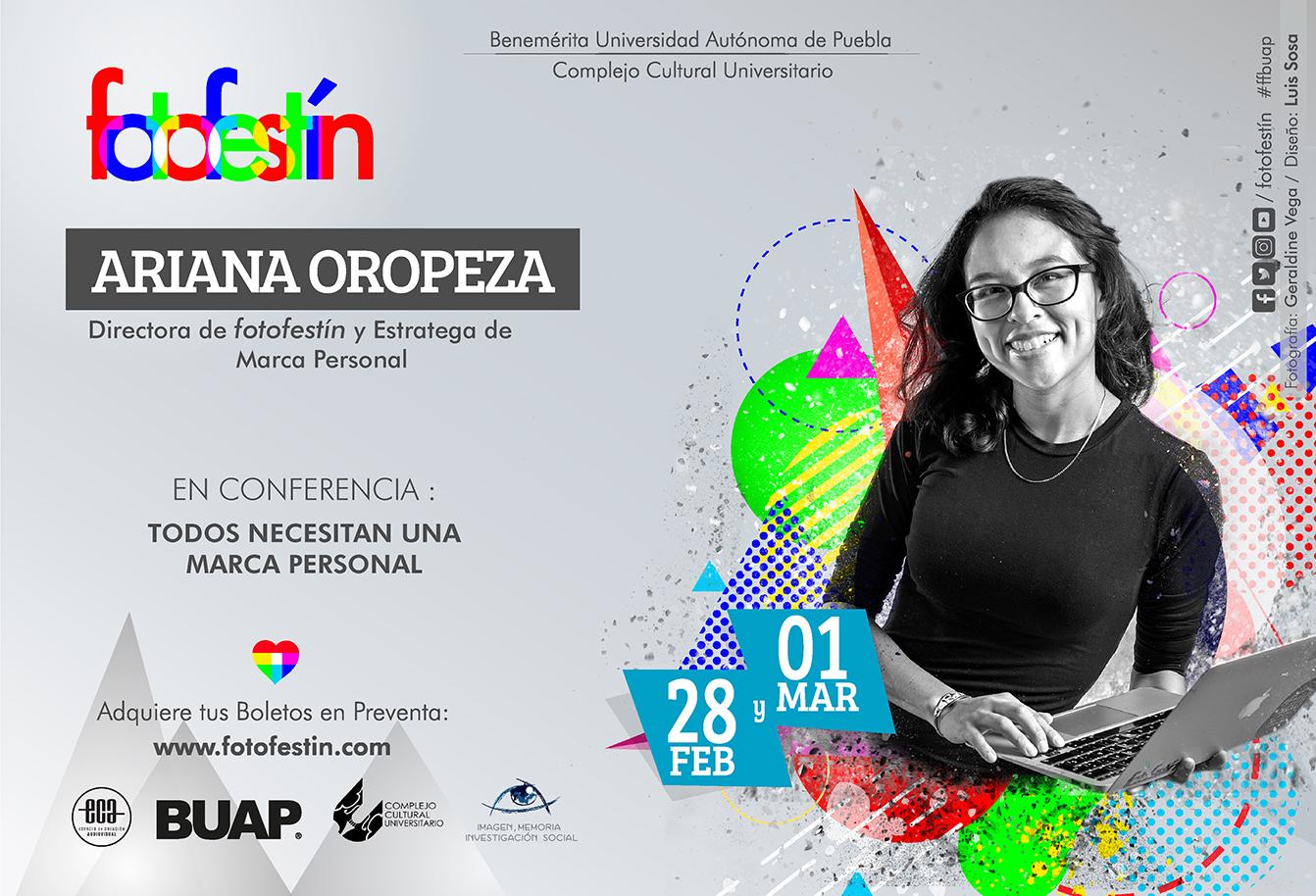 Ariana Oropeza asesora de marca personal