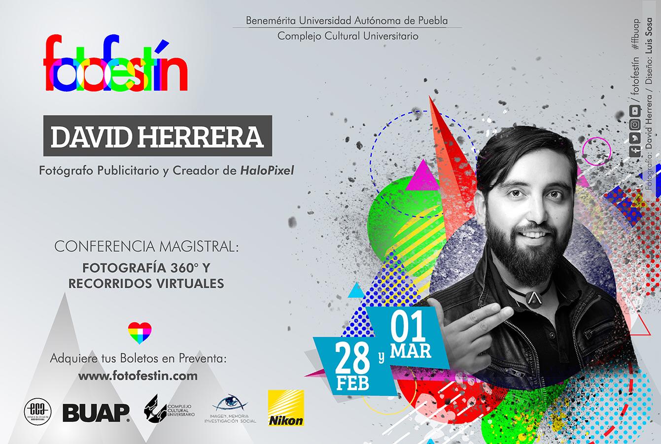 David Herrera Conferencias de fotografia fotofestin