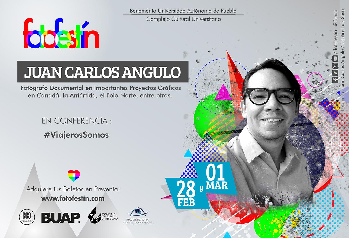 Juan Carlos Angulo fotografo documental Conferencias de fotografia fotofestin