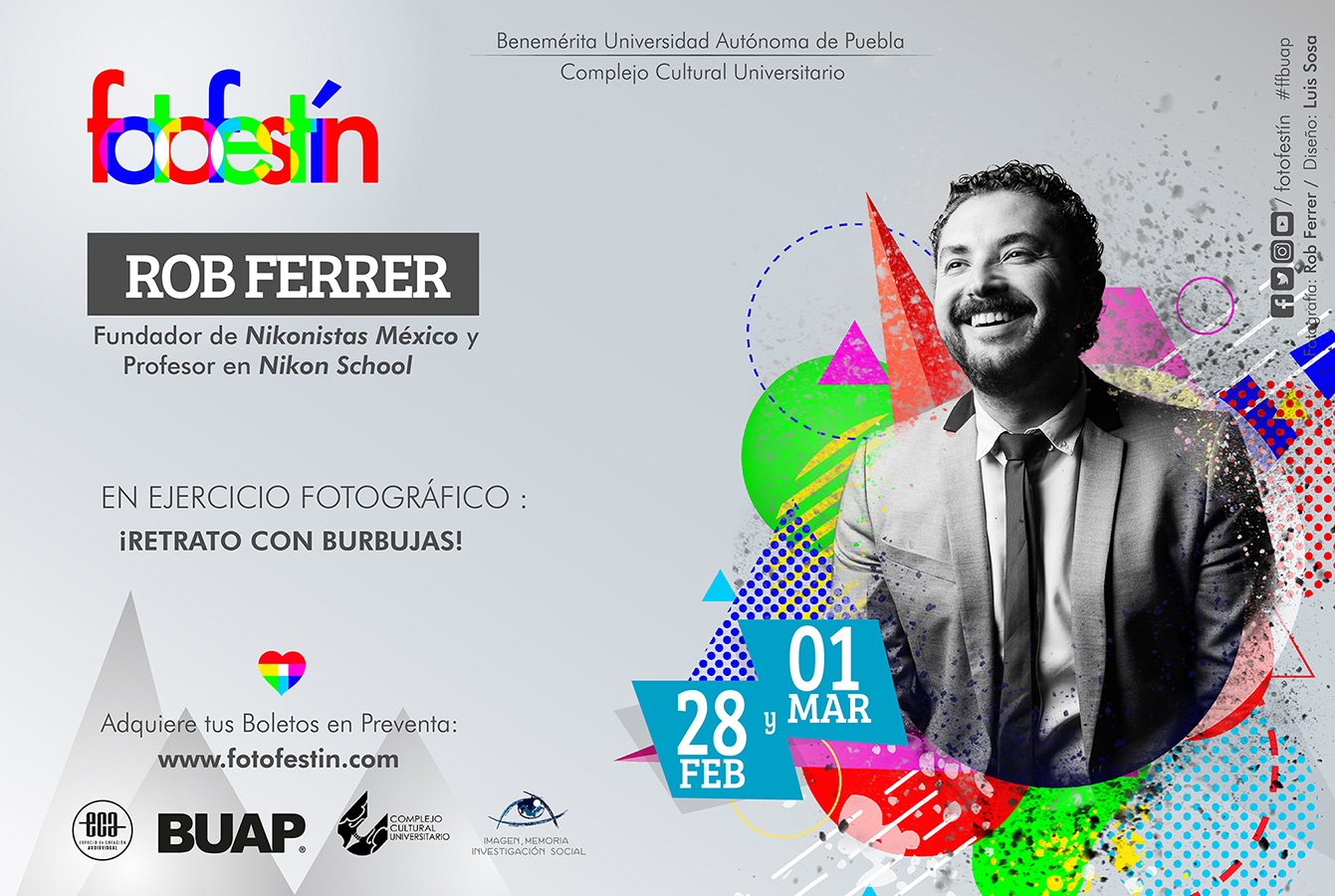 Rob Ferrer Conferencias de fotografia fotofestin