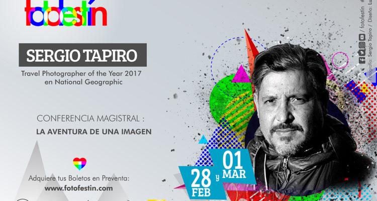 Sergio Tapiro Conferencias de fotografia fotofestin
