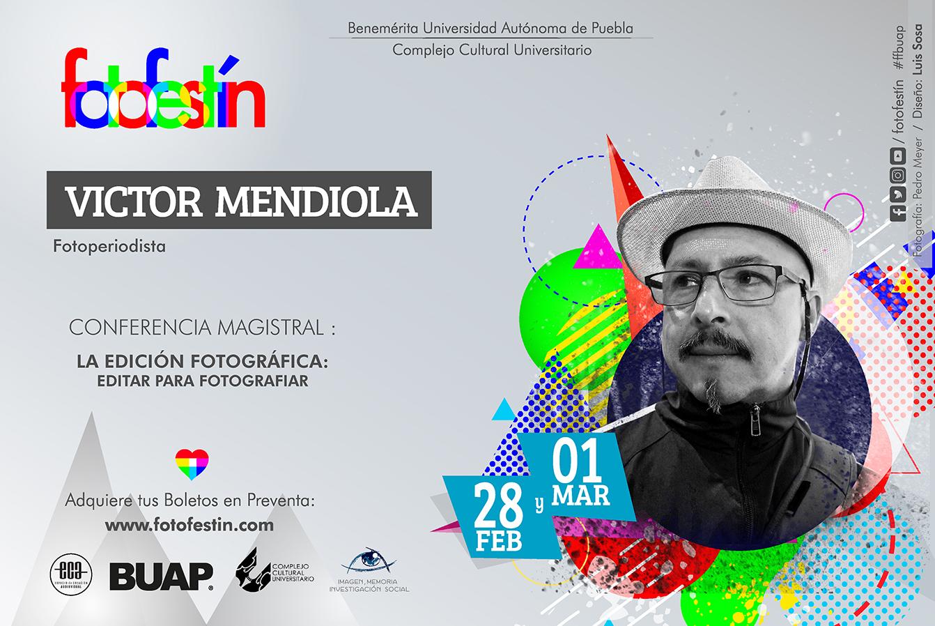 Victor Mendiola Conferencias de fotografia fotofestin