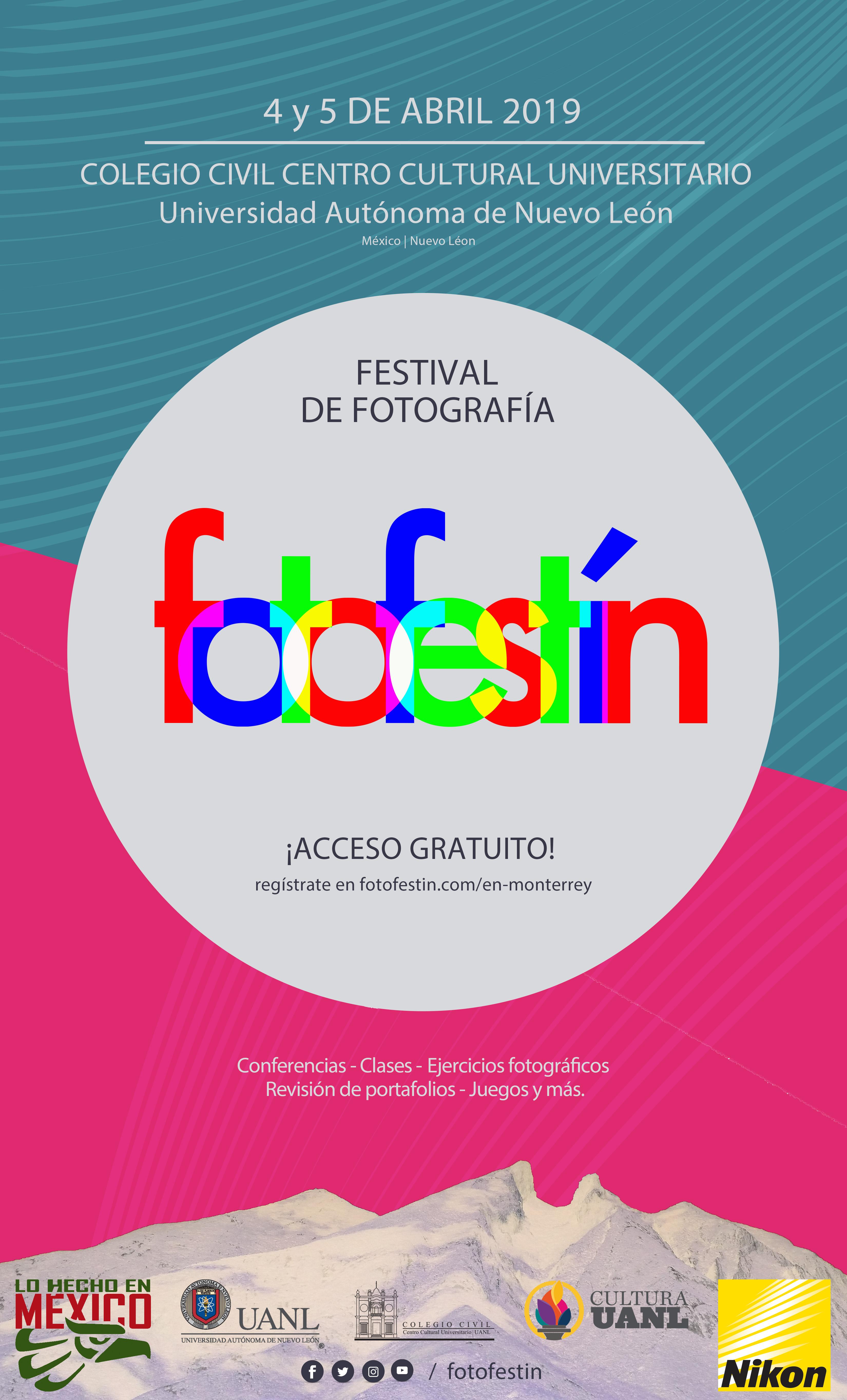 Festival de Fotografia fotofestín en la UANL monterrey nuevo león