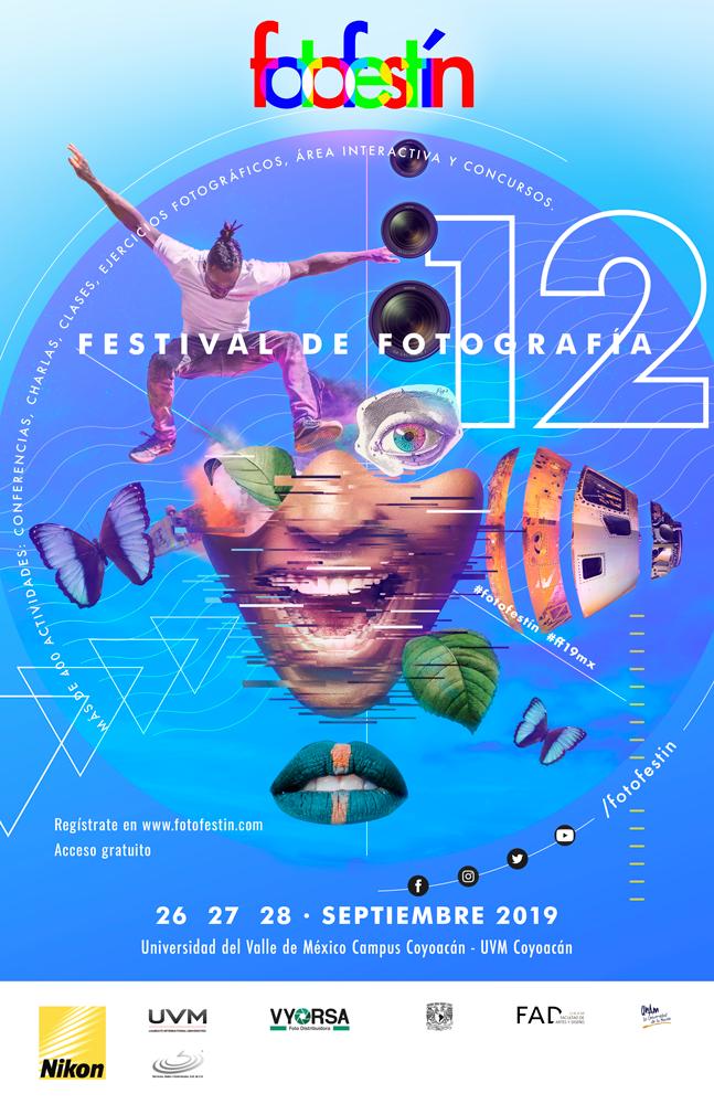 Festival de fotografía fotofestín CDMX Ciudad de México UVM fotofestín Nikon Septiembre clases, cursos, talleres
