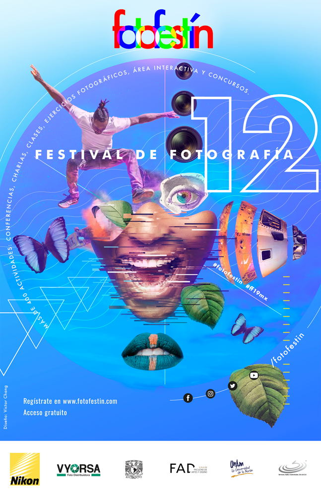 Cartel-oficial-festival-de-fotografia-fotofestin-ff19mx-nikon