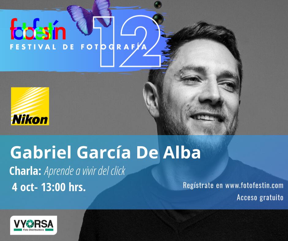 Gabriel García de Alba festival de fotografía fotofestín ff19mx
