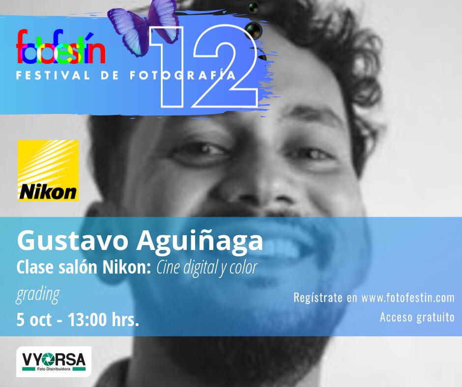 Gustavo-Aguiñaga-clase-cine-festival-de-fotografía-fotofestín-ff19mx-nikon-fes-acatlán