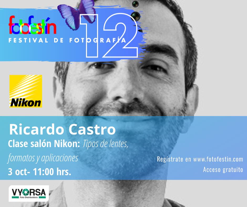 Ricardo-Castro-clase-lentes-festival-de-fotografía-fotofestín-ff19mx-nikon-fes-acatlán
