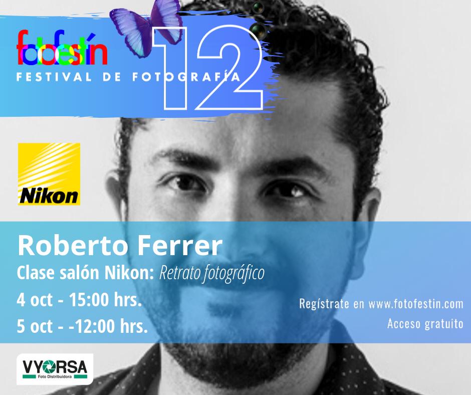 Roberto-Ferrer-clase-retrato-festival-de-fotografía-fotofestín-ff19mx-nikon-fes-acatlán
