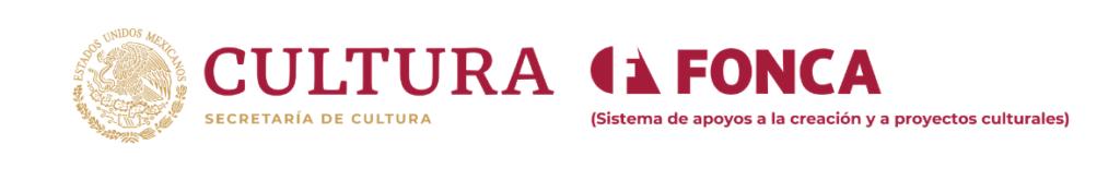 Apoyo de proyectos FONCA Secretaria de Cultura Gobierno federal Festival de Fotografía fotofestín banner de website home