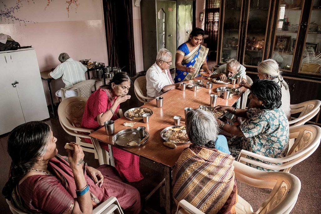 festival de fotografia fotofestin Sayan Hazra tercera edad covid india mexico