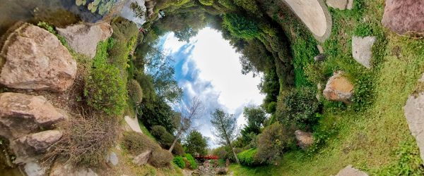 planeta invertido fotografía 360 paisaje panorámica fotógrafo Ulises Escobar Román